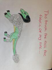 Fan Art 2--Cotton Dragon Advertising Slogan