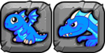BlueFire Dragon Icon