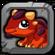 Scoria Dragon Baby Icon