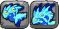 Aquamarine Dragon Icon
