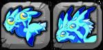 Aquamarine Dragon Icon