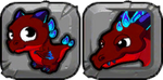 Heat Dragon Icon