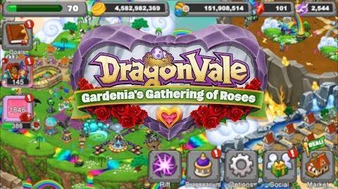 DragonVale Gardenia's Gathering of Roses 2018