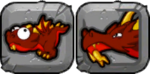 Flash Dragon Icon