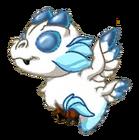 SnowySilverDragonBaby