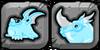 Iceberg Dragon Icon