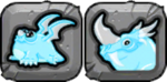 Iceberg Dragon Icon