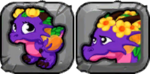 Bouquet Dragon Icon