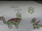 My dragonvale melon dragon by shadowstar146-d5g9avm