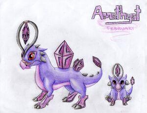 WTL Amethyst Dragon