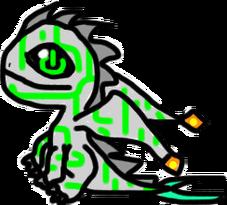 ElekBirthdayCyberneticDragonBaby