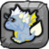 Storm Dragon Baby Icon