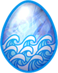 Aquamarine Dragon Egg