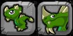 Malachite Dragon Icon