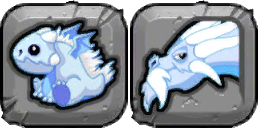 Cold Dragon Icon