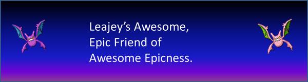 Leajey Badge of Awesomness
