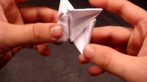 Video How To Make A Paper Ninja Star Shuriken Origami