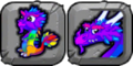 Rainbow Dragon Icon