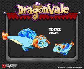 Topaz Dragon Dragonvale Wiki Fandom Powered By Wikia