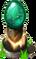 Emerald Pedestal