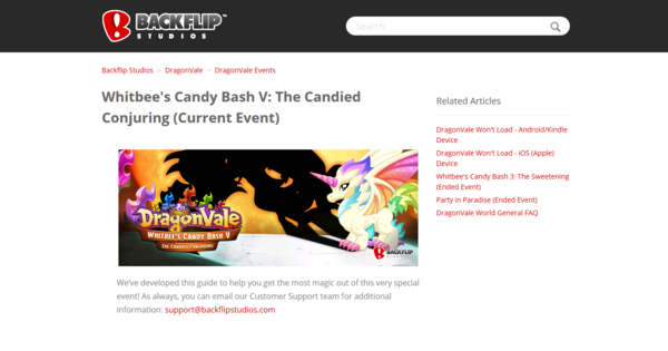 Whitbees Candy Bash V The Candied Conjuring Dragonvale Wiki