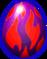 Flammendrache Ei
