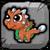 Copper Dragon Baby Icon