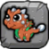 Copper Dragon Baby Icon