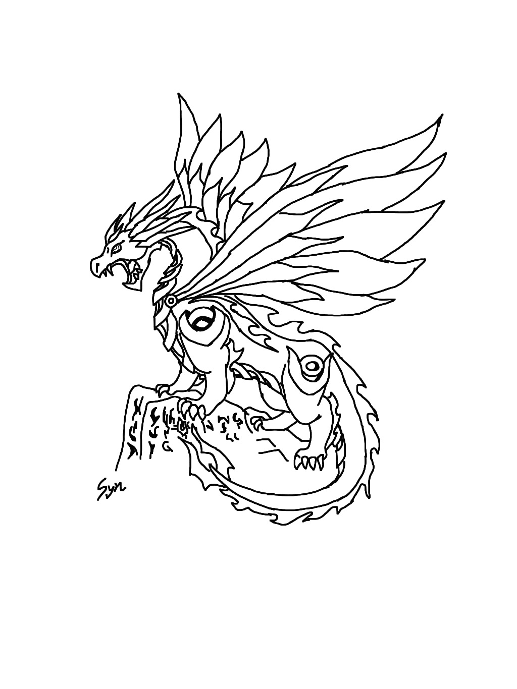 sdaabwjpg - Dragonvale Dragons Coloring Pages