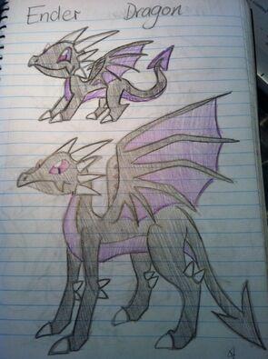 Ender Dragon Art