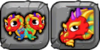 Double Rainbow Dragon Icon