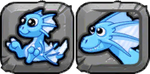 Ice Dragon Icon