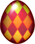 Motley Dragon Egg