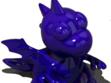 Indigo Dragon Figurine