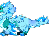 Frostfluff Dragon