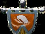 Metal Element Flag