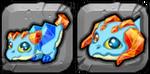 Topaz Dragon Icon