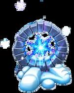 Kristalline Schneeflocke Animation