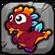 Coral Dragon Baby Icon