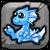 Ice Dragon Baby Icon