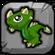 Malachite Dragon Baby Icon