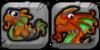 Rust Dragon Icon