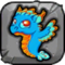 Turquoise Dragon Baby Icon