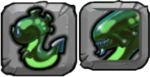 Acid Dragon Icon