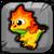 Autumn Dragon Baby Icon