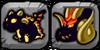 Solar Eclipse Dragon Icon
