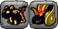 Solar Eclipse Dragon Icon