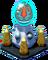 Silver Olympus Twin Pedestal