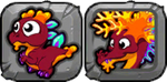 Coral Dragon Icon