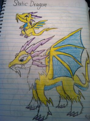 Static 1 Dragon Art